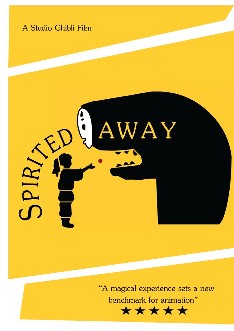 Spirited Away poster by madamemoose on DeviantArt