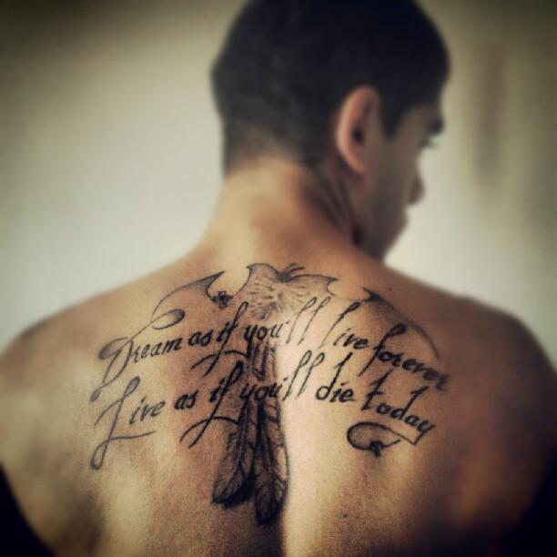 james dean quotes tattoo
