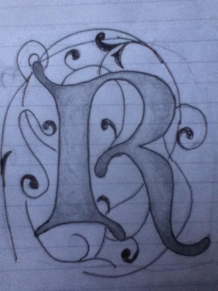 Celtic R Tattoo Design By BeckstaG