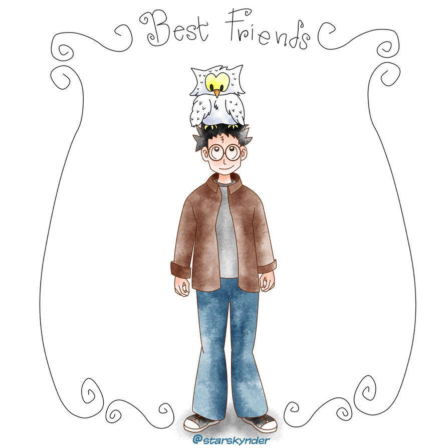 Best Friends by starskynder