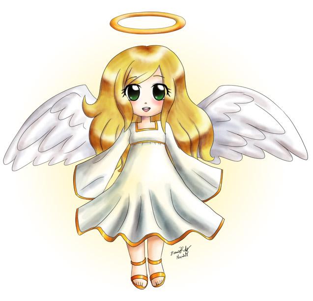 chibi angel wings - photo #33