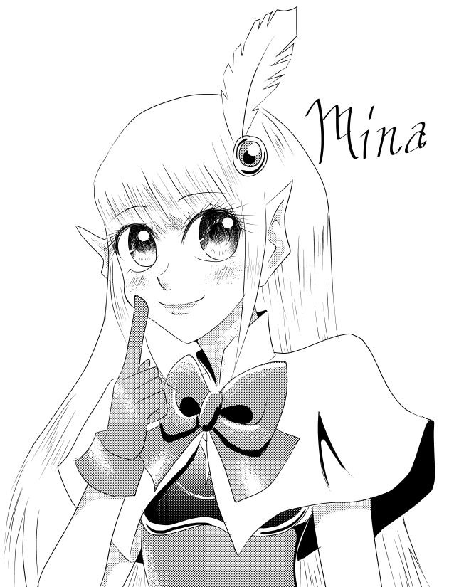 Shoujo Mina by ninjapink