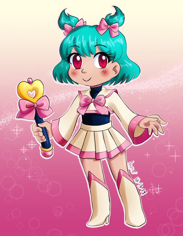 Chibi Bishoujo Super Kawaii by ninjapink