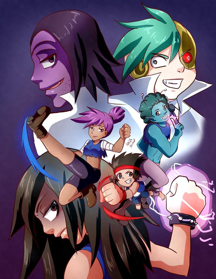 OK KO - Let's Be Anime! by ninjapink