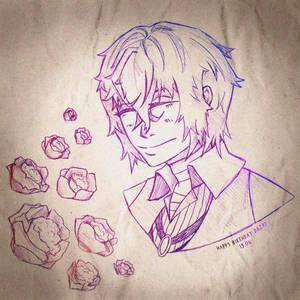 Osamu Dazai - Portrait Sketch