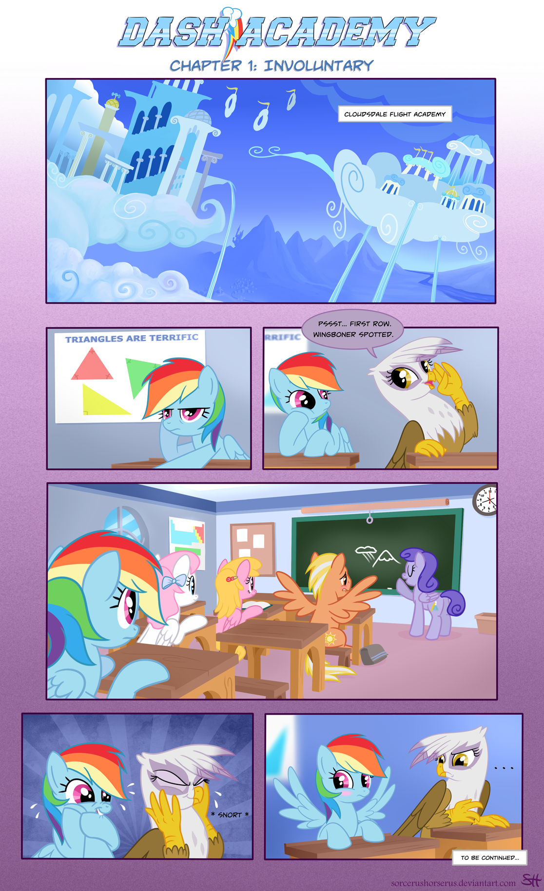 Dash Academy Chapter 1 - Involuntary by SorcerusHorserus