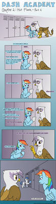 Dash Academy Chapter 2 - Hot Flank #1