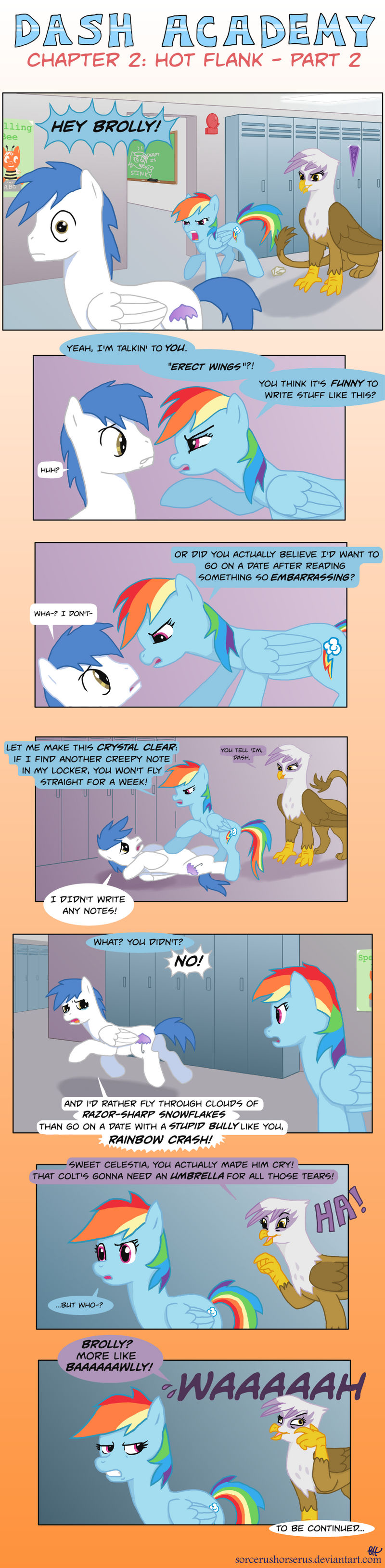 Dash Academy Chapter 2 - Hot Flank #2 by SorcerusHorserus on