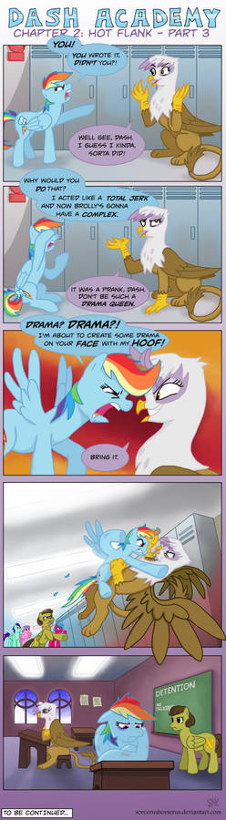 Dash Academy Chapter 2 - Hot Flank #3