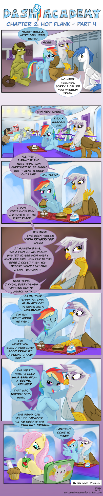 Dash Academy Chapter 2 - Hot Flank #4 by SorcerusHorserus