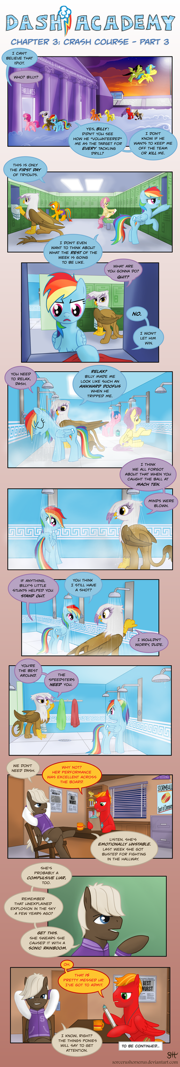Dash Academy 3- Crash Course 3 by SorcerusHorserus