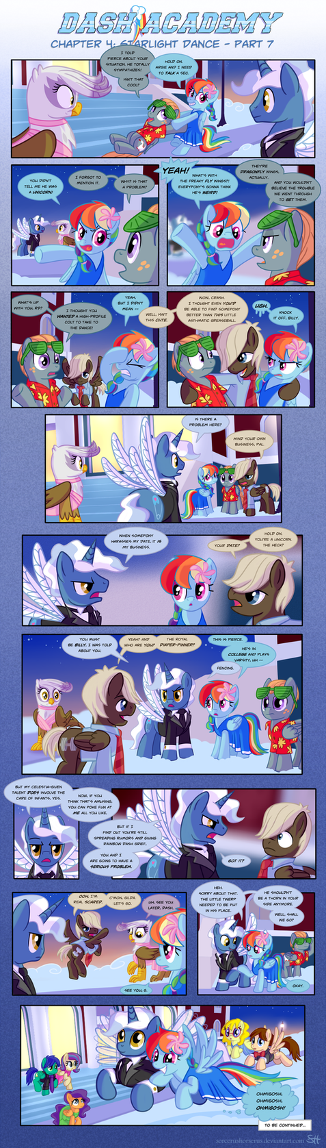 Dash Academy 4- Starlight Dance 7 by SorcerusHorserus