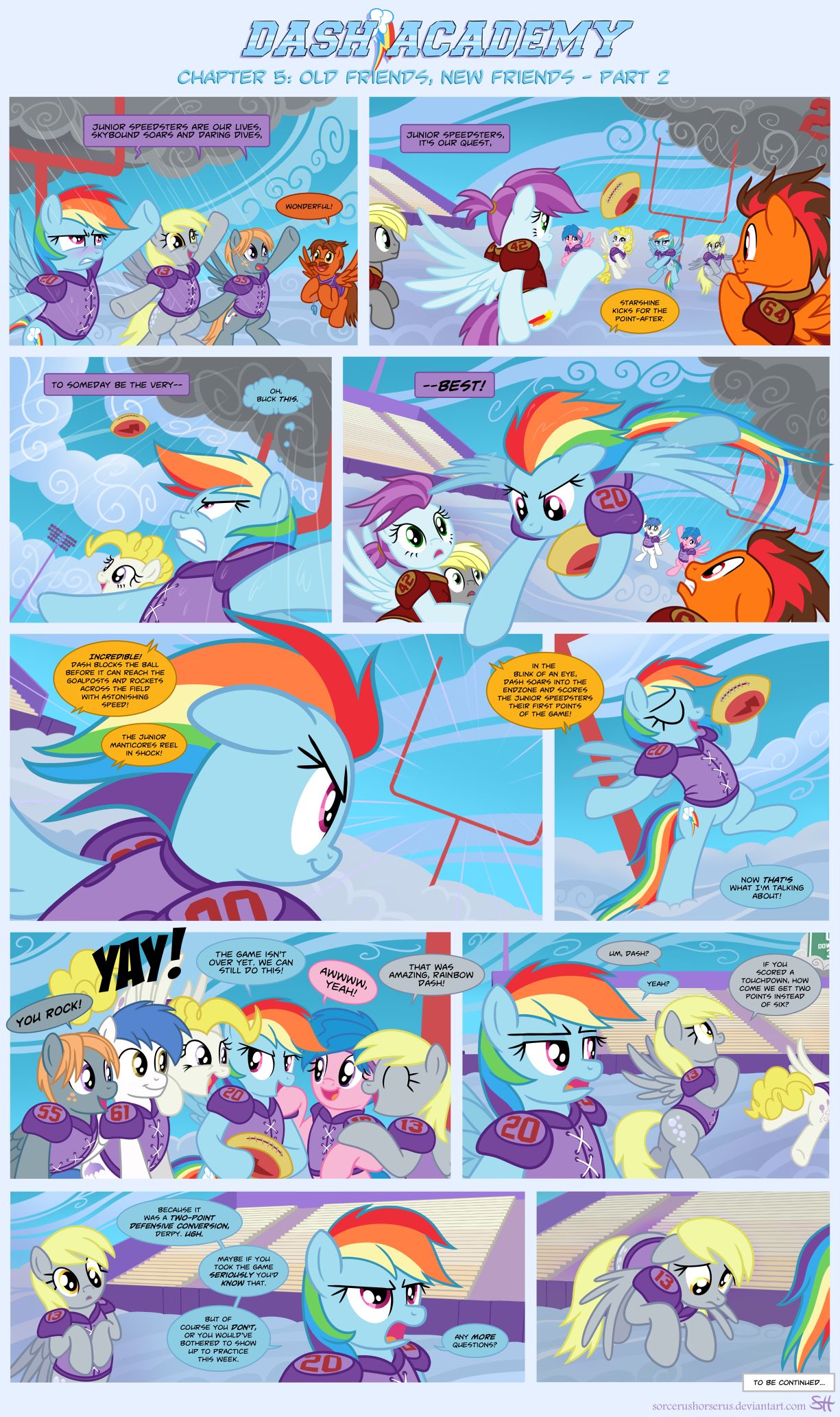 Dash Academy 5- Old Friends, New Friends 2 by SorcerusHorserus