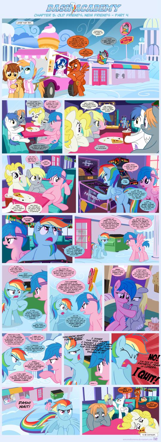 Dash Academy 5- Old Friends, New Friends 4 by SorcerusHorserus