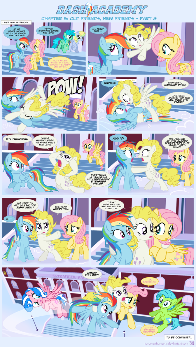 Dash academy 5 old friends new friends 8 by sorcerushorserus on