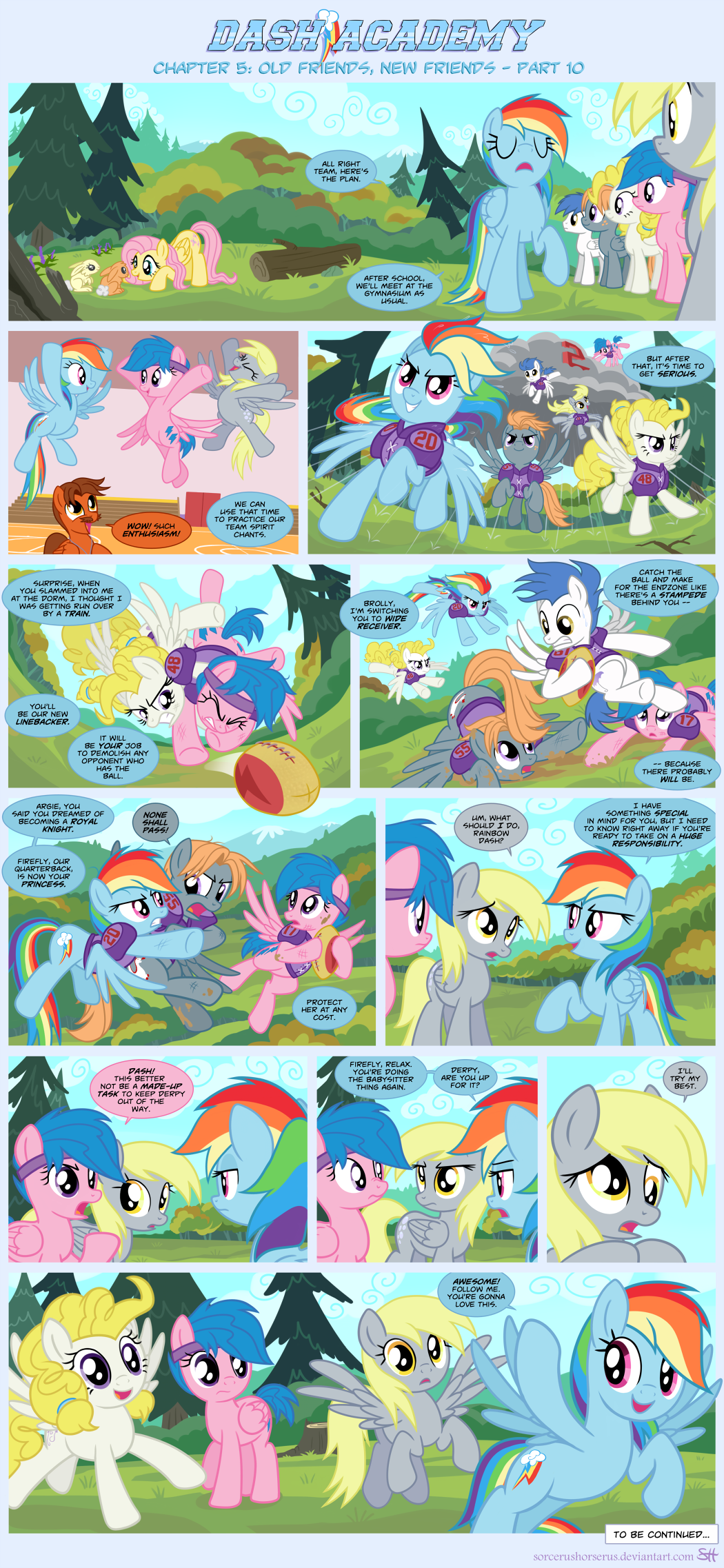 Dash Academy 5- Old Friends, New Friends 10 by SorcerusHorserus