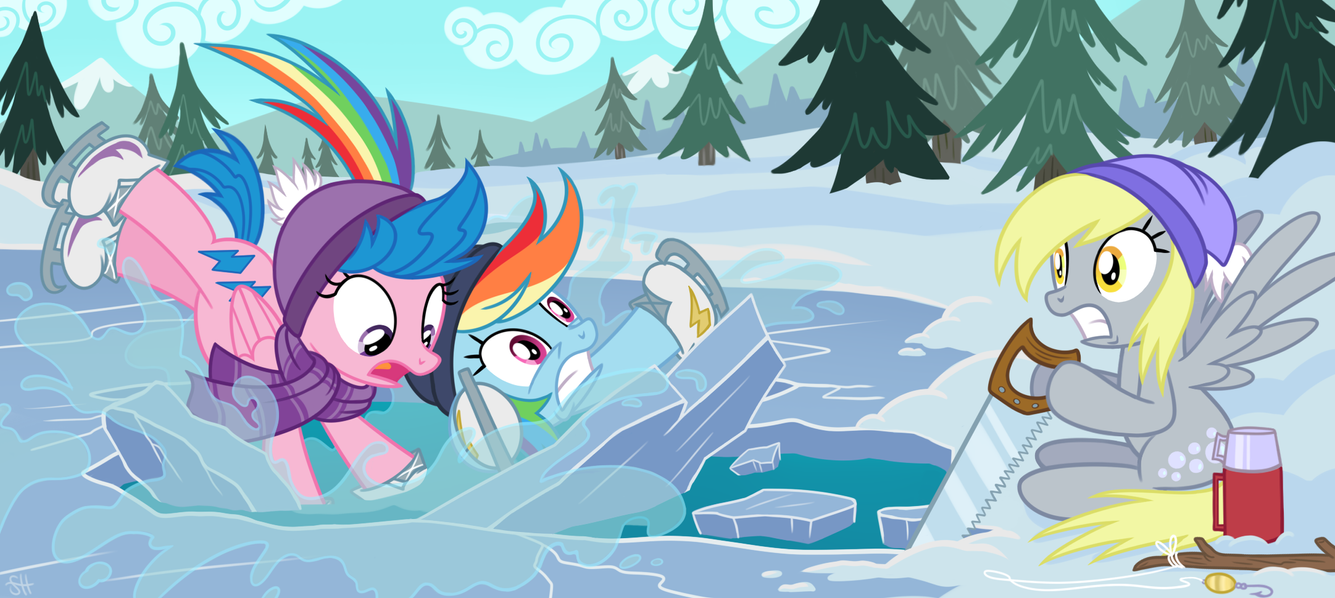 Breaking the Ice by SorcerusHorserus