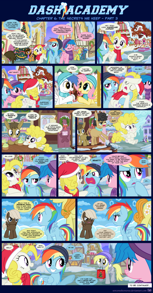 Dash Academy 6- The Secrets We Keep 3 by SorcerusHorserus