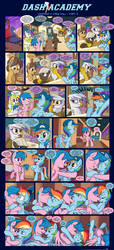 Dash Academy Chapter 7 - Free Fall #3 by SorcerusHorserus