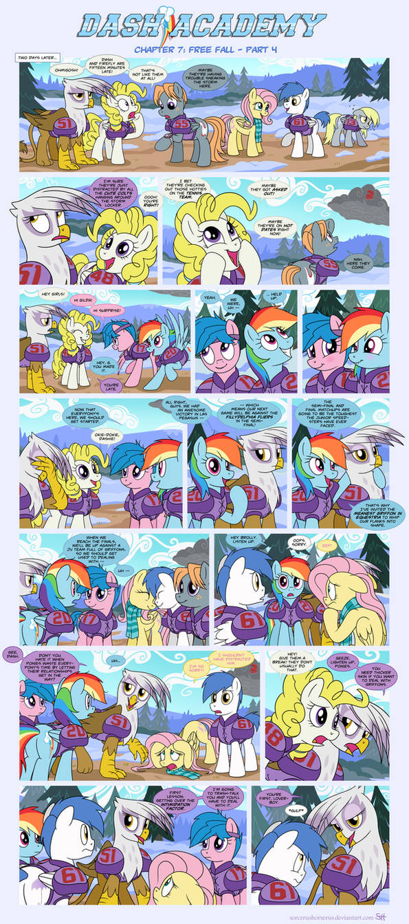 Dash Academy Chapter 7 - Free Fall #4 by SorcerusHorserus