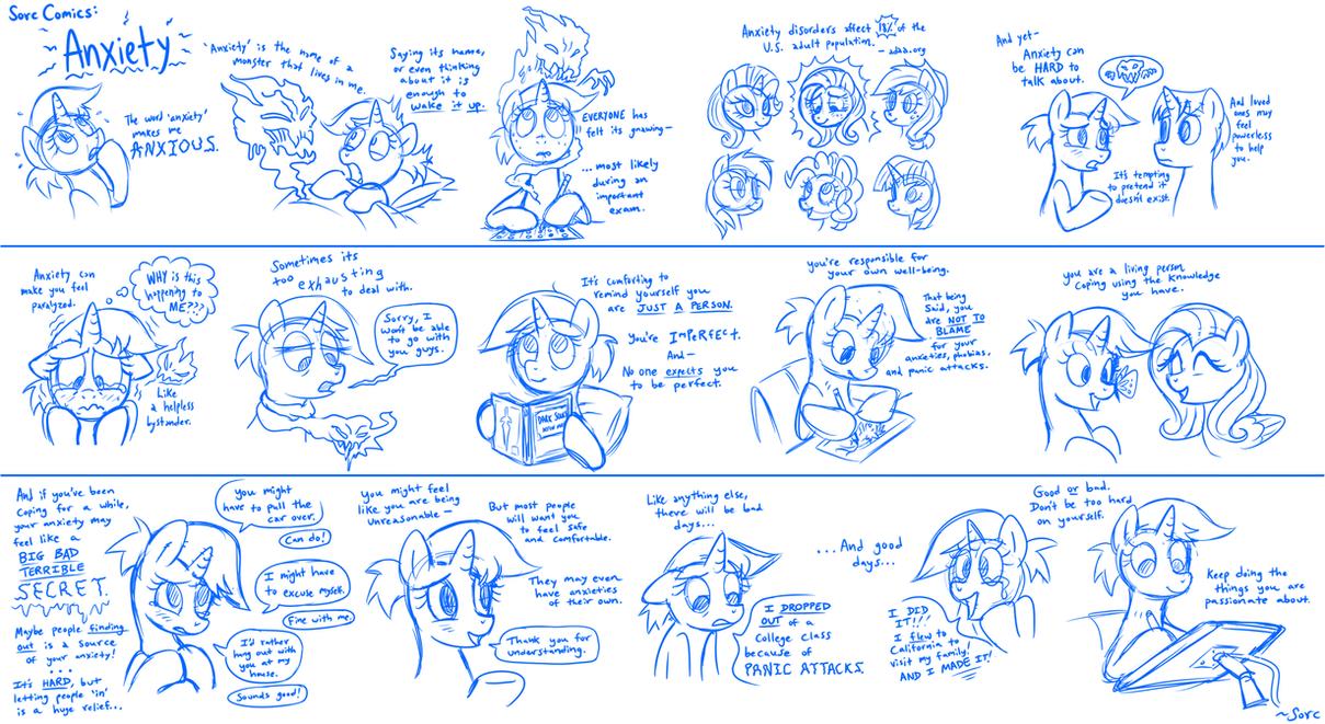 Sorc Comics: Anxiety by SorcerusHorserus
