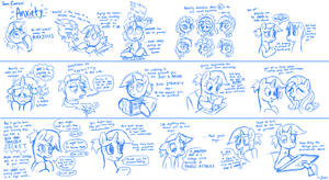 Sorc Comics: Anxiety