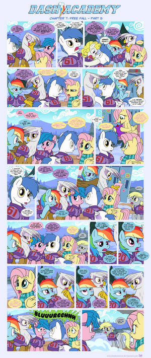 Dash Academy Chapter 7 - Free Fall #5