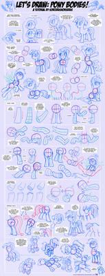 Let's Draw: Pony Bodies! Tutorial #2