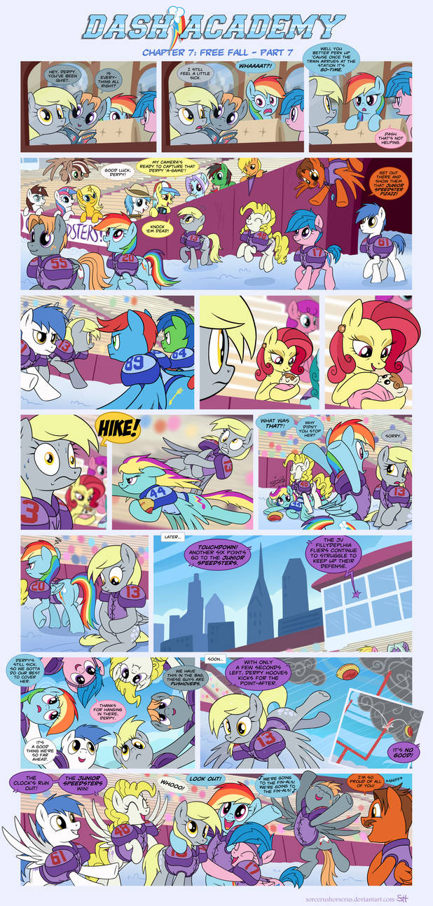 Dash Academy Chapter 7 - Free Fall #7 by SorcerusHorserus