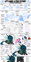 Let's Make: A Pony Picture! Tutorial #4