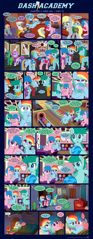 Dash Academy Chapter 7 - Free Fall #12