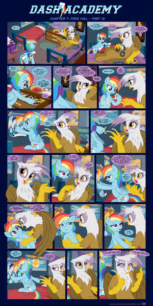 Dash Academy Chapter 7 - Free Fall #13