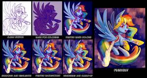 'Gala Dash' Step-by-Step by SorcerusHorserus
