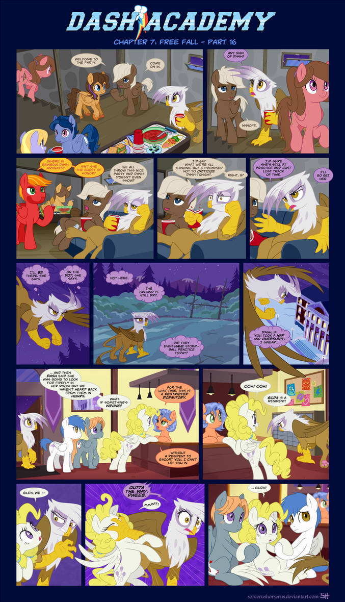 Dash Academy Chapter 7 - Free Fall #16 by SorcerusHorserus