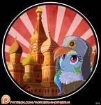 Rainbow Dash Russia!