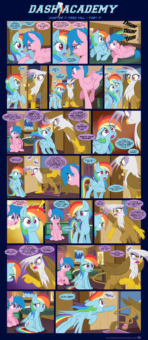 Dash Academy Chapter 7 - Free Fall #17