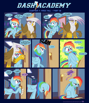 Dash Academy Chapter 7 - Free Fall #18