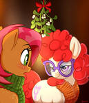 Under the Mistletoe by SorcerusHorserus