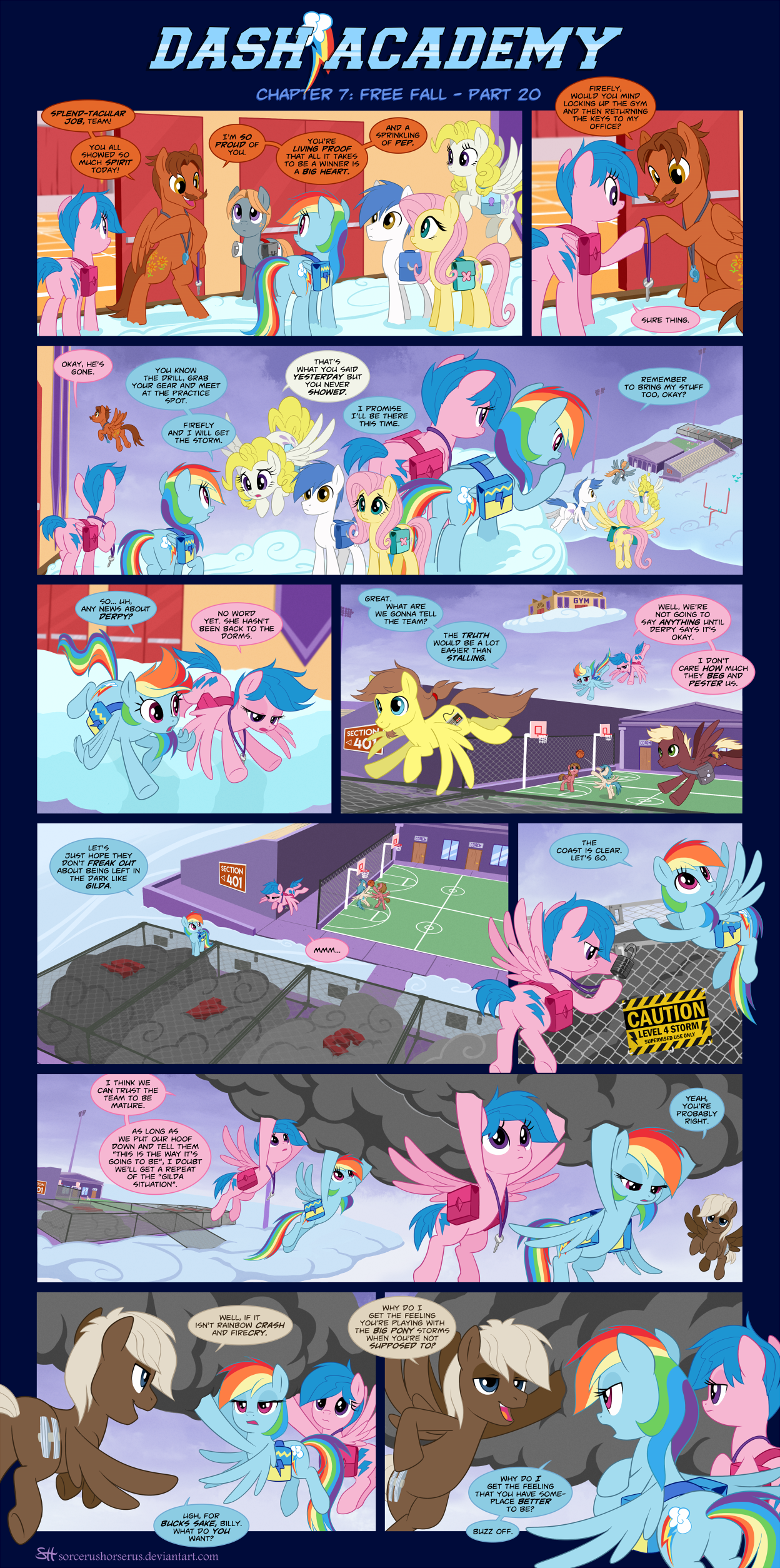 Dash Academy Chapter 7 - Free Fall #20
