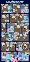 Dash Academy Chapter 7 - Free Fall #21 by SorcerusHorserus