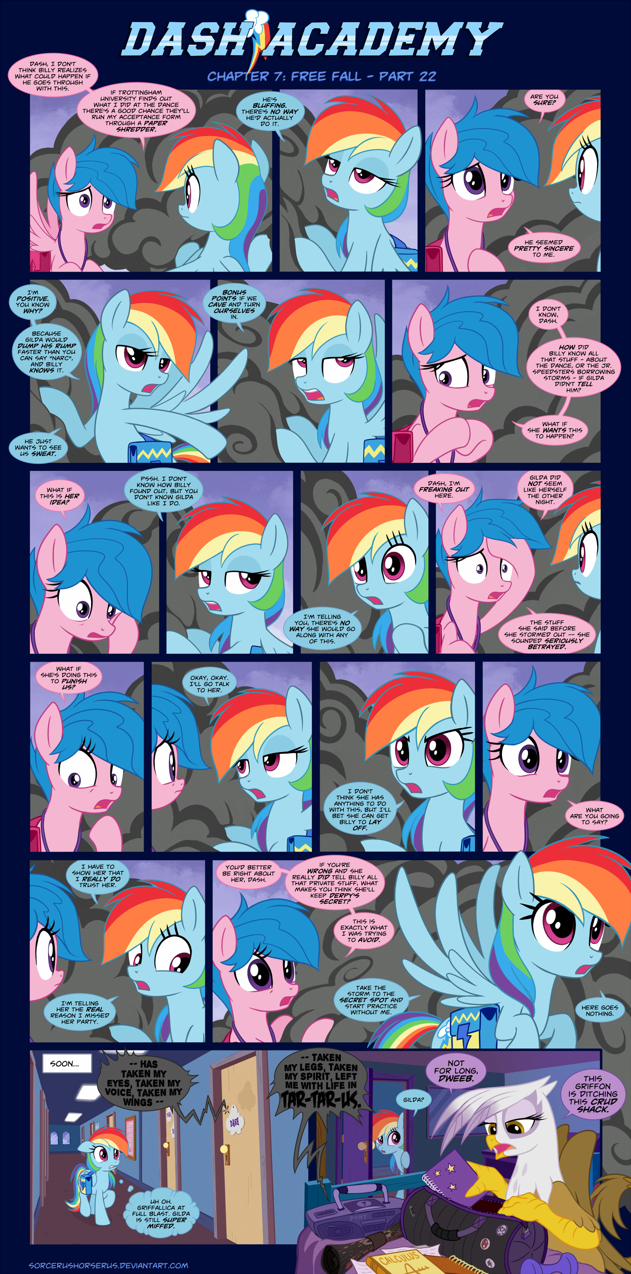 Dash Academy Chapter 7 - Free Fall #22