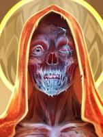 Drippy Lich Portrait by SorcerusHorserus