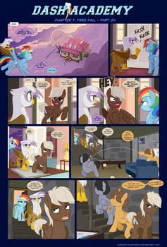 Dash Academy Chapter 7 - Free Fall #24