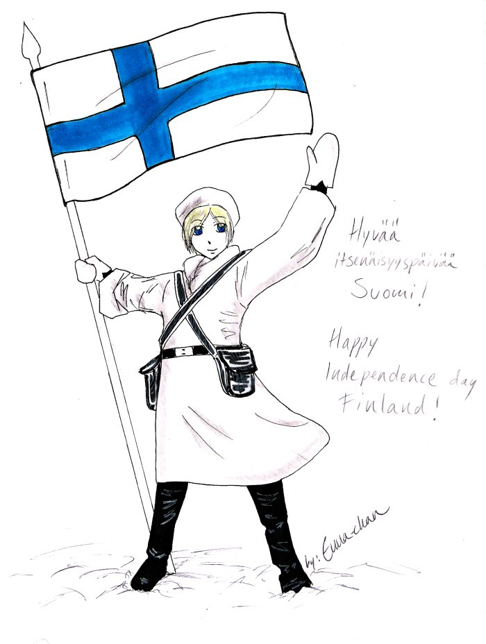 Happy Independence Day Finland by Enna-chan on DeviantArt
