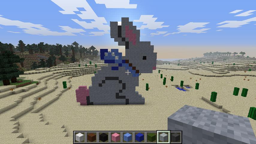 Minecraft Rabbit Build Golfclub