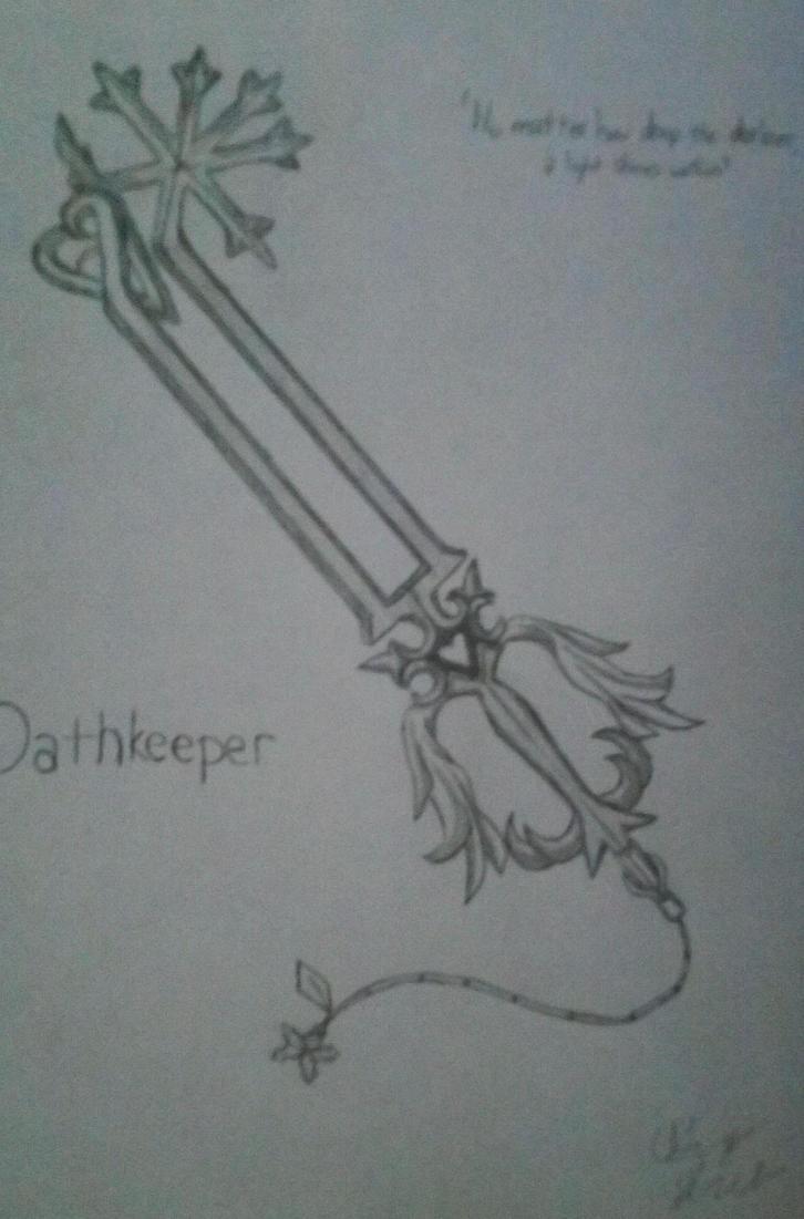 Oathkeeper Keyblade by littlmiget123 on DeviantArt