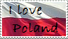 I love Poland STAMP by AleX-IshtaR