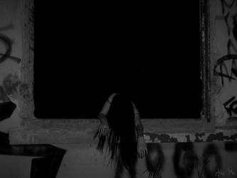 She Haunts This Place by AdaEtahCinatas