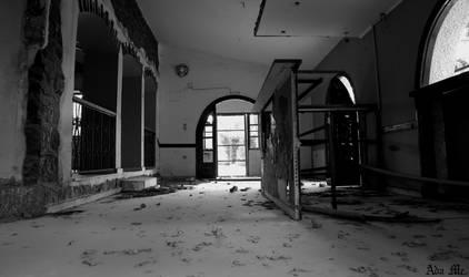 Abandoned Cafe VI by AdaEtahCinatas