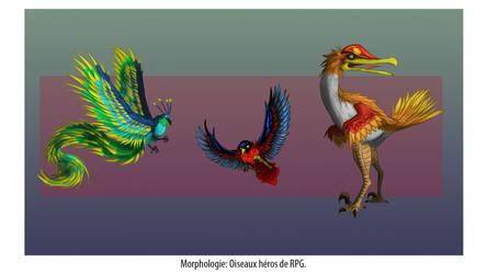 RPG Bird characters 2019